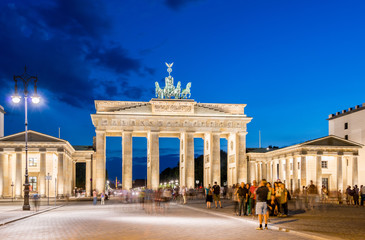 Printed kitchen splashbacks Berlin - AUGUST 4, 2013: Brandenburg Gate on August 4 in Germany