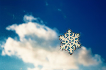 Snowflake with cloud