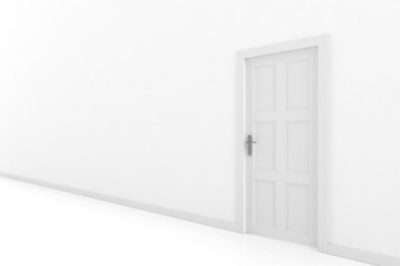 rendering of a door