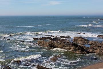 côte océan Bretagne