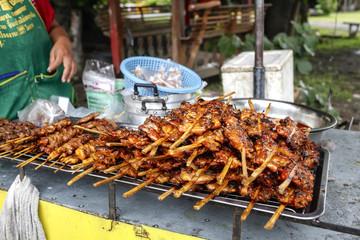 Thai style grill chicken