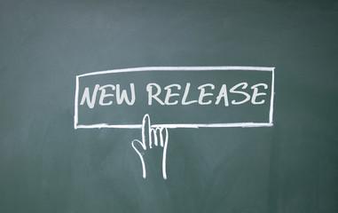 finger click new release symbol