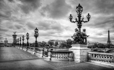 Paris pont Alexandre III, Paris
