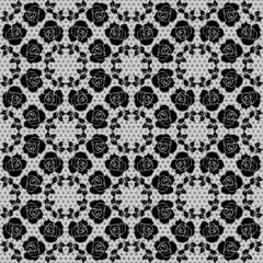 Floral lace pattern