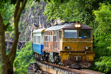 The Kanchanaburi death railway