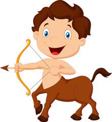 Zodiac symbol sagittarius