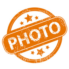 Photo grunge icon