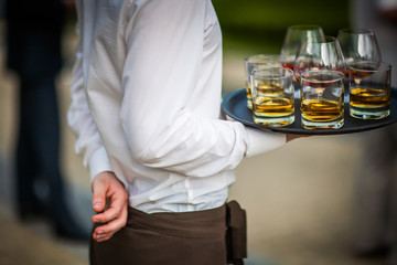 Gourmet Food and Drinks Catering (Cognac and Whiskey)