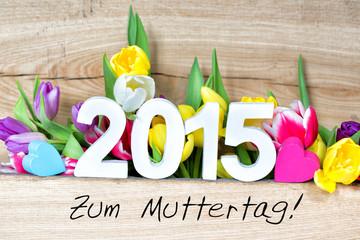 Wall Mural - Muttertag 2015