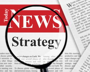 Strategy headline