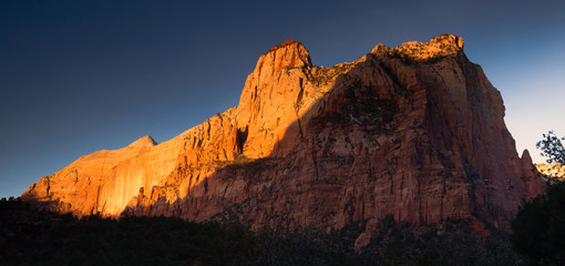 The Sentinel Watchman Trail Zion National Park Utah
