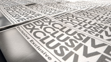 Newspaper Exclusive Press Run End