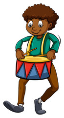 Man with a drum