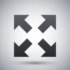 Vector full screen icon
