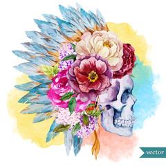 Ethnic skull