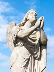 Statue of a prayer angel