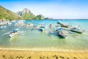 El Nido beach - Tropical destination - Palawan Philippines
