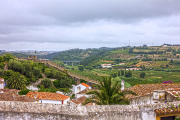 Old town, Obidos, Portugal