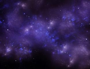 Universe, starry sky