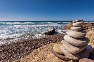 Wall Mural - Steine am Meer