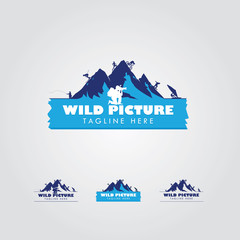 Wild Picture Logo Design Concept