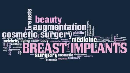 Breast implants - word cloud