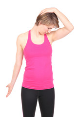 Dehnung der Hals-und Nackenmuskulatur