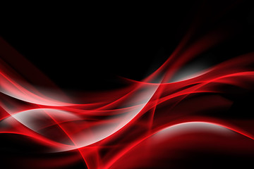 Elegant Red Waves
