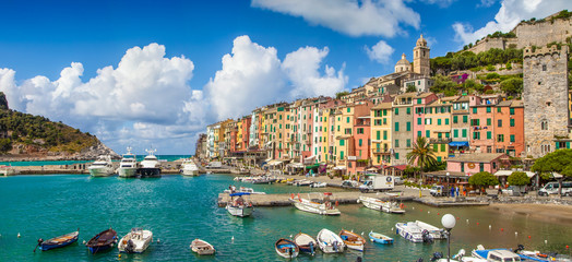 Fisherman town of Portovenere, Liguria, Italy