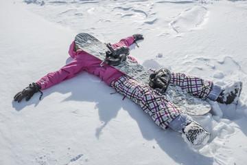 snowboarder stanca
