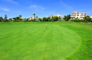 Golf course, Huelva, Andalusia, Spain