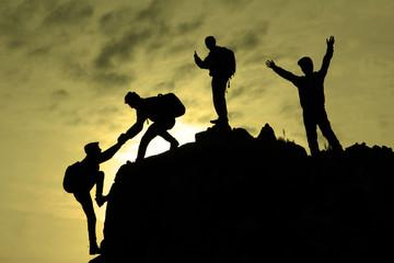 zirveye ulaşmak&başarılı tırmanış