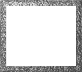 Antiker Fotorahmen schwarz-weiss