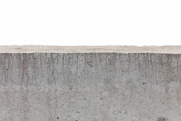 white concrete fence