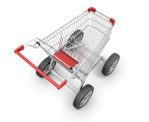Concept shopping cart