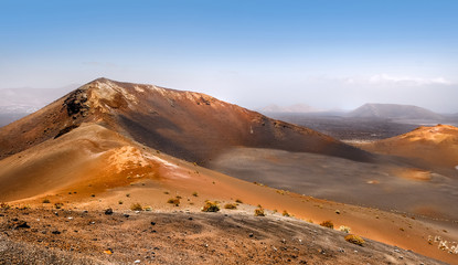 Mountains of fire,Timanfaya on Lanzarote