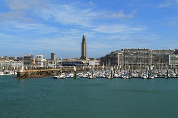 Port de plaisance du Havre, France