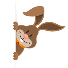 Easter Bunny Banner Diagonal