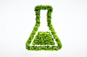 3d bio science sign.