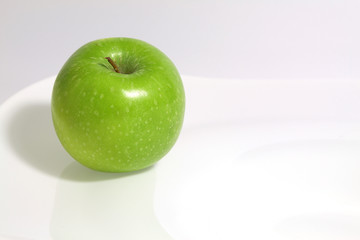Aluminium Prints Grocery groene appel,Granny smith