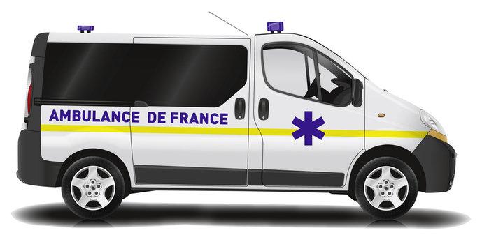 Camionnette ambulance