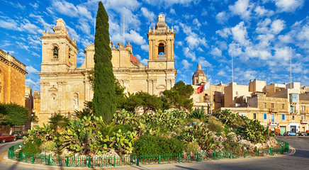 St. Lawrence church in Birgu, Malta