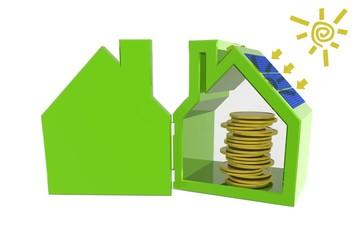 Geld besparen met zonnepanelen
