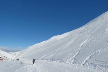 Hautes-Pyrénées - Promenade en montagne l'hiver