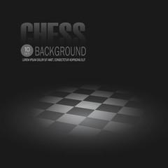 Chessboard. Vector background