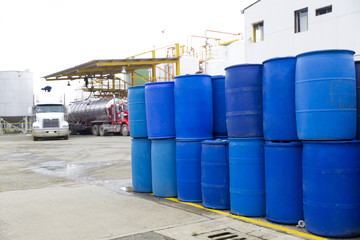 Big Blue Barrels
