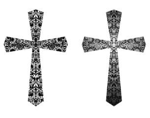Christian crosses (black and white)