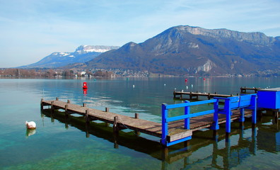lac d'annecy -haute -savoie
