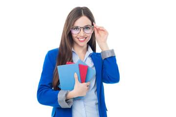 Young female teacher