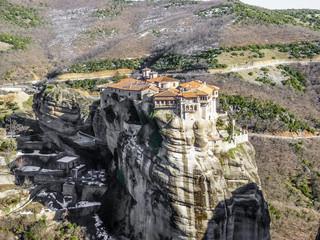 Monastery Holy Trinity at Meteora, Greece